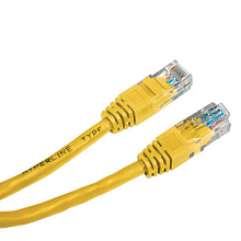 Hyperline PC-LPM-UTP-RJ45-RJ45-C5e-1.5M-YL Патч-корд UTP, Cat.5е, 1.5 м, желтый
