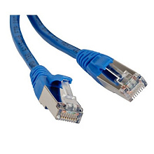 Hyperline PC-LPM-UTP-RJ45-RJ45-C6-1M-BL Патч-корд UTP, Cat.6, 1 м, синий