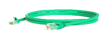 Hyperline PC-LPM-UTP-RJ45-RJ45-C6-0.5M-LSZH-GN Патч-корд U/UTP, Cat.6, LSZH, 0.5 м, зеленый